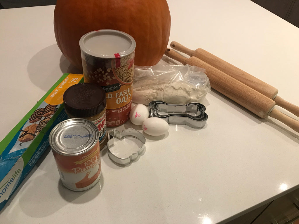 All the ingredients ready