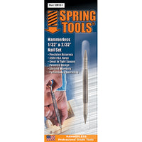 Spring Tools Double Ended 1/32 & 2/32 Nail Set