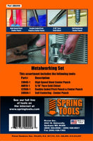 Spring Tools 4 Piece Metal Working Set