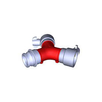 Breeching Dividing 70mm Coupling