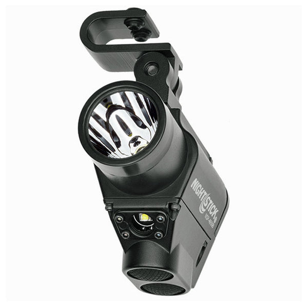 Helmet Mounted Dual Light Flashlight