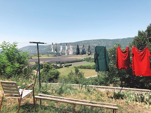 Laundry in Gordes