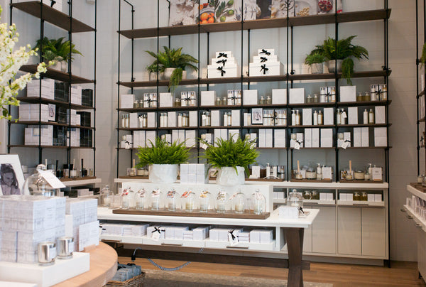 The white company elan flowers nyc grand opening