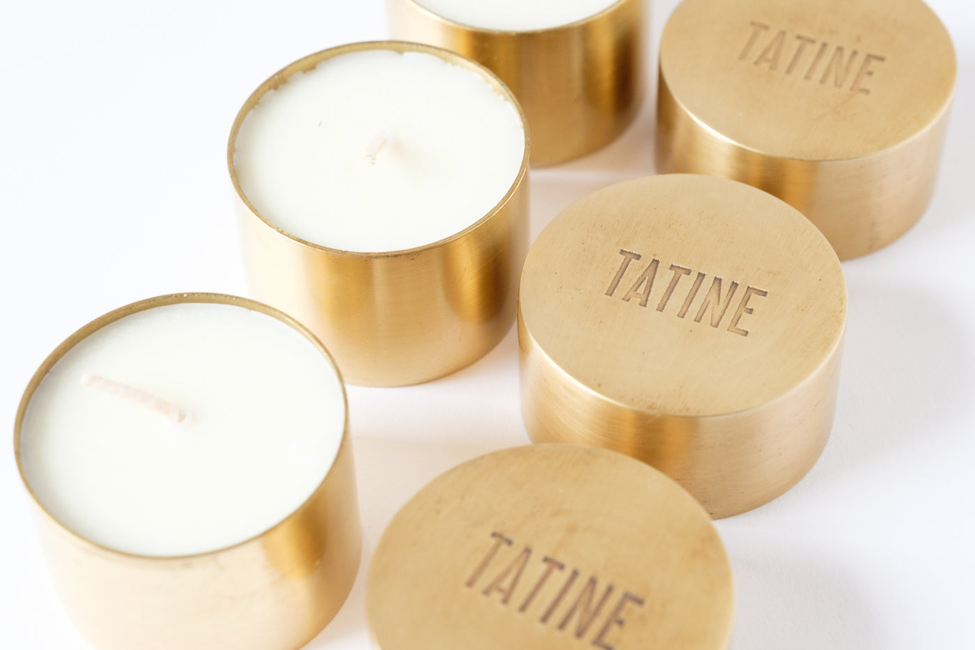 Tatine Candles - Élan Flowers