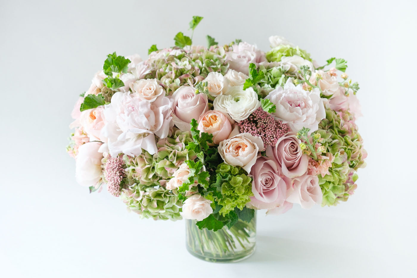 vintage pinks - new york city flower delivery