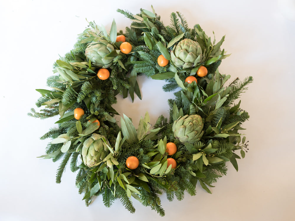 Bayleaf Wreath - Élan Flowers - delivery new york city