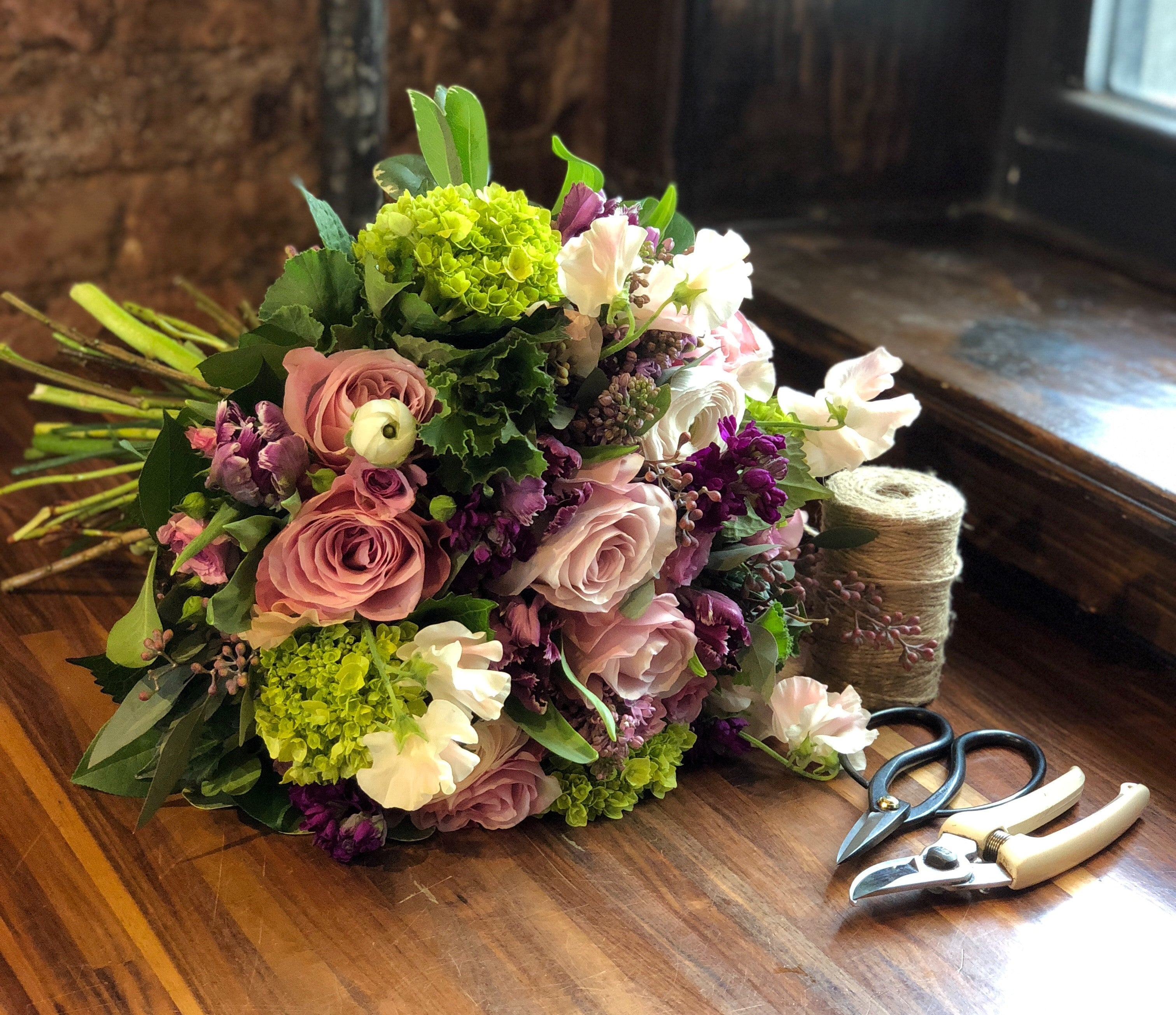 Spring Floral Design Workshop - Saturday, April 4th, from 3:30 - 5:30pm - Élan Flowers