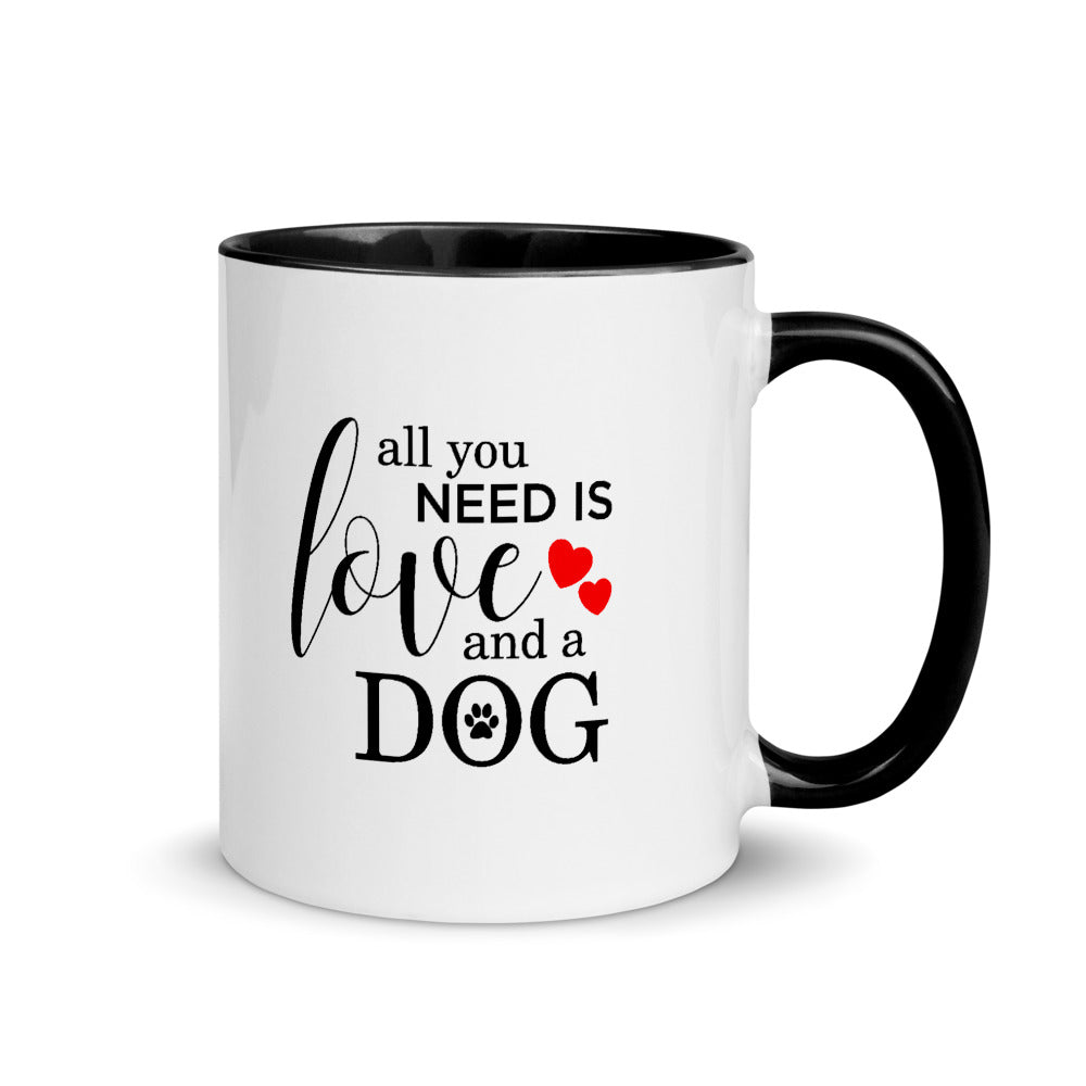 Pet Love Humorous Mug with Color Inside