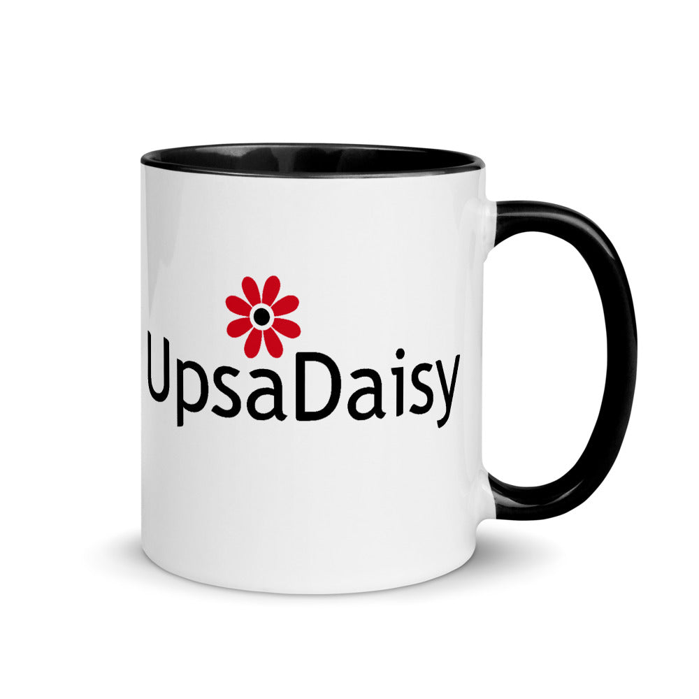 Local Fave UpsaDaisy Mug with Color Inside