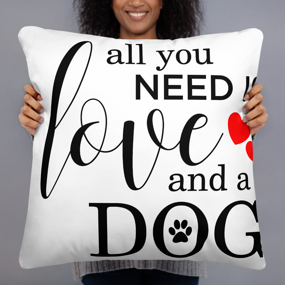 Pet Love Humorous Basic Pillow