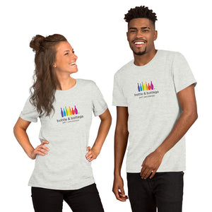 Local Fave Bottle and Bottega Short-Sleeve Unisex T-Shirt
