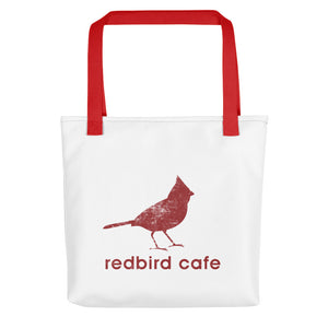 Local Fave Redbird Red Tote bag