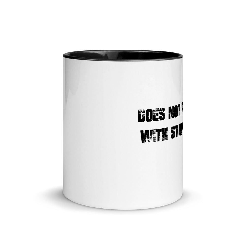 Humorous Doesn't Play Mug with Color Inside