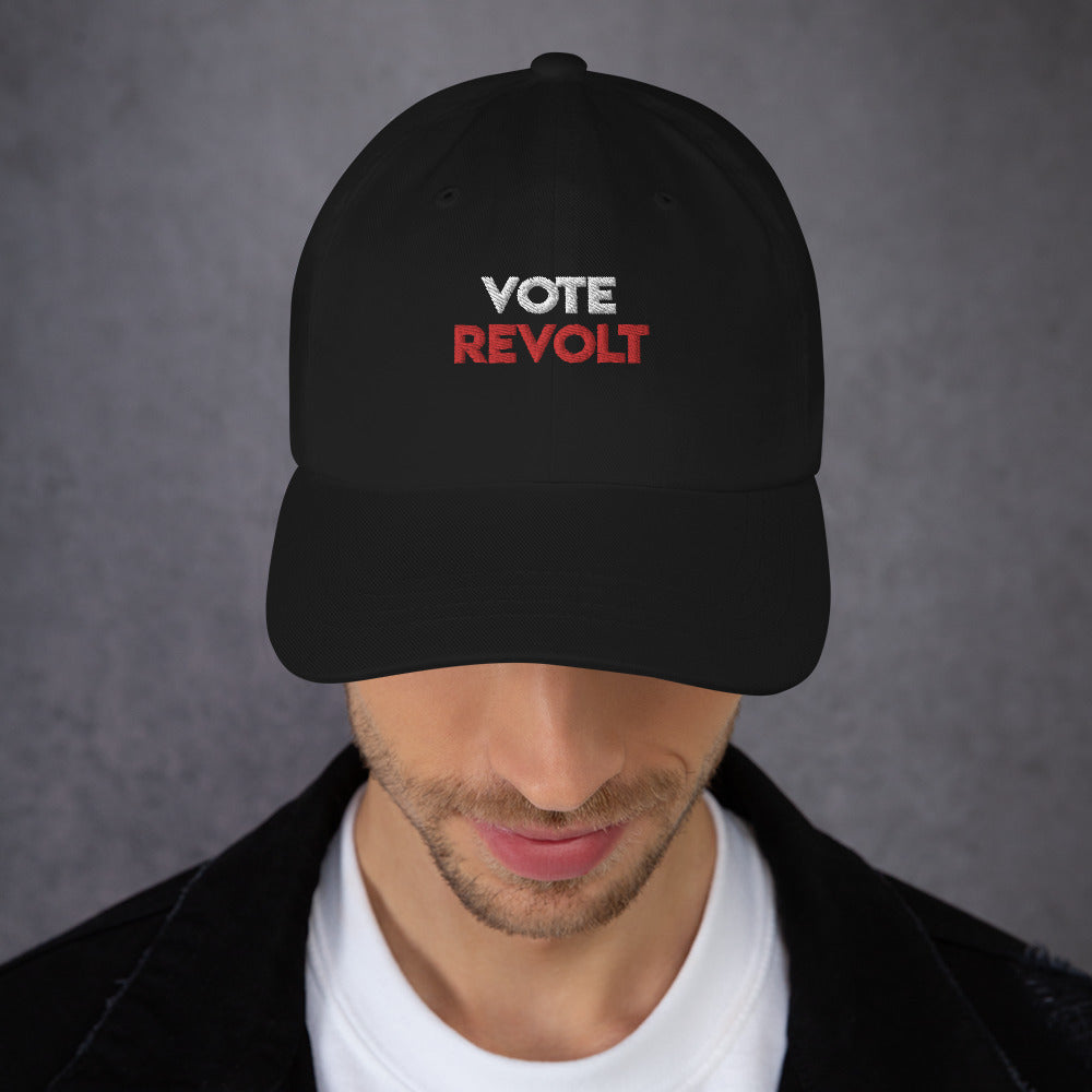 Politics Vote Revolt Dad hat