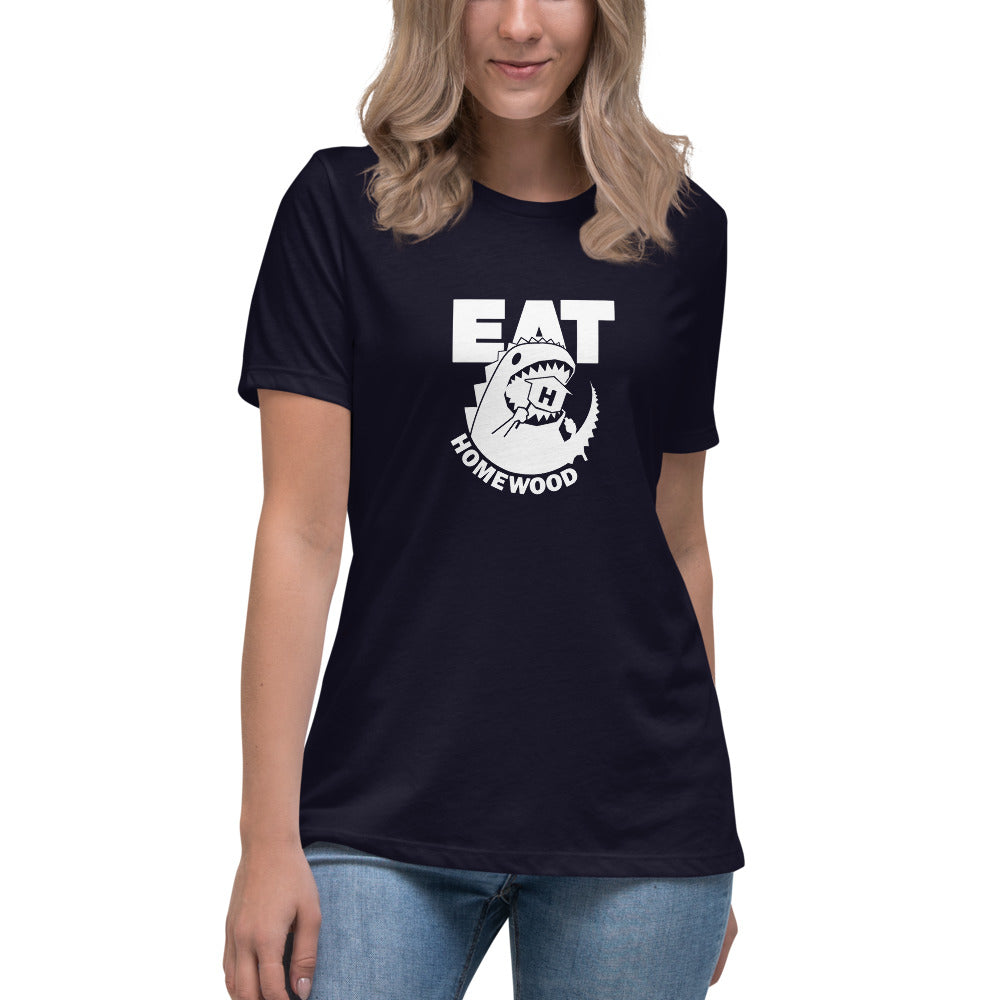 EAT Homewood 5 Dark Women's Relaxed T-Shirt