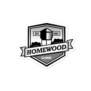 Homewood Pride 5 Bubble-free stickers