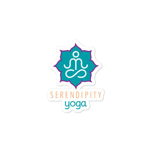 Local Fave Serendipity Yoga Bubble-free stickers