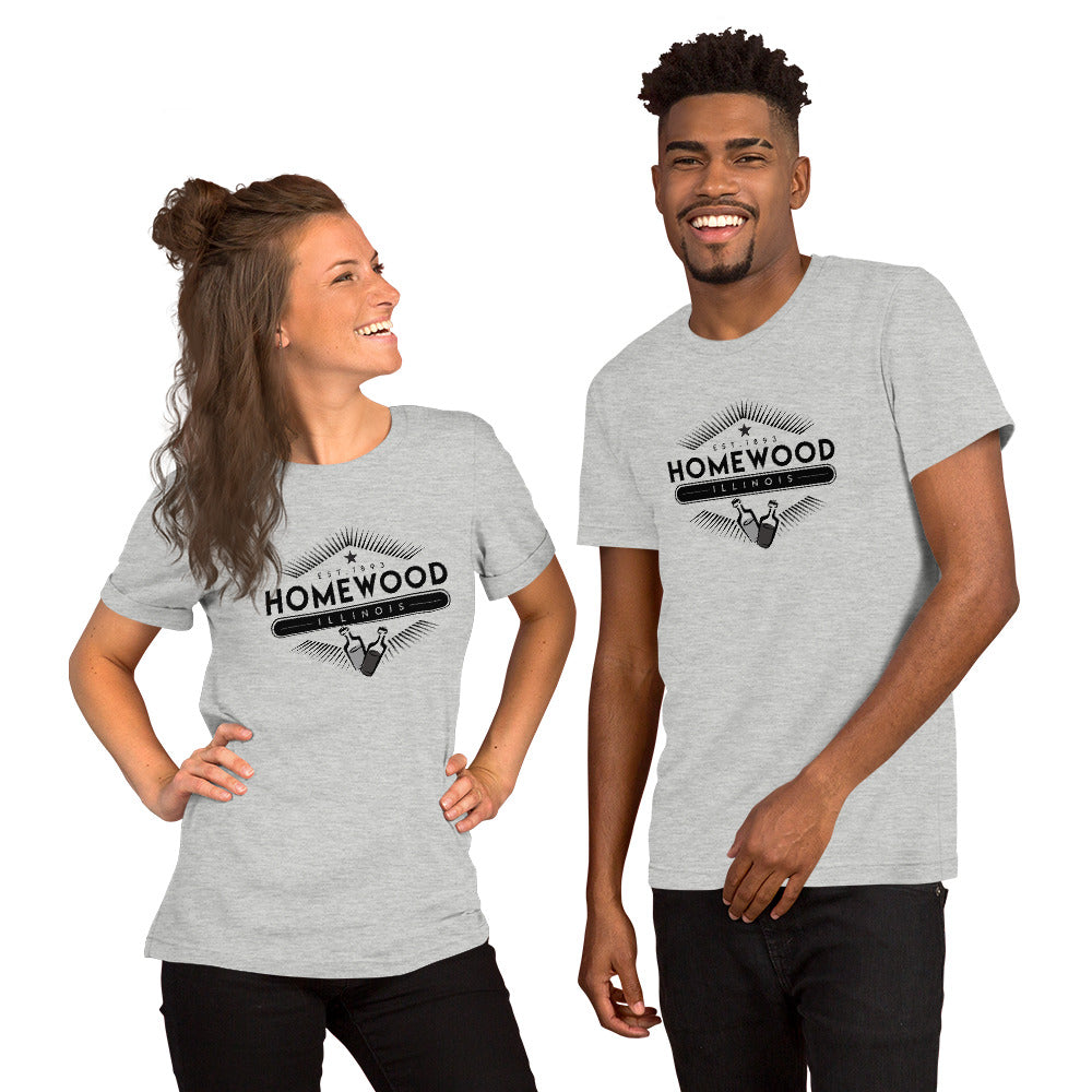 Homewood Pride 12 Short-Sleeve Unisex T-Shirt