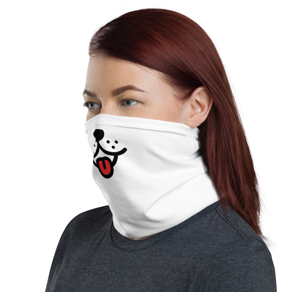 Humorous Dog Tongue Neck gaiter