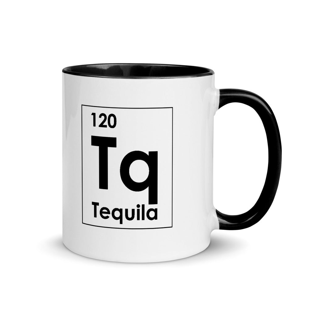 Tequila Brand Element Mug with Color Inside
