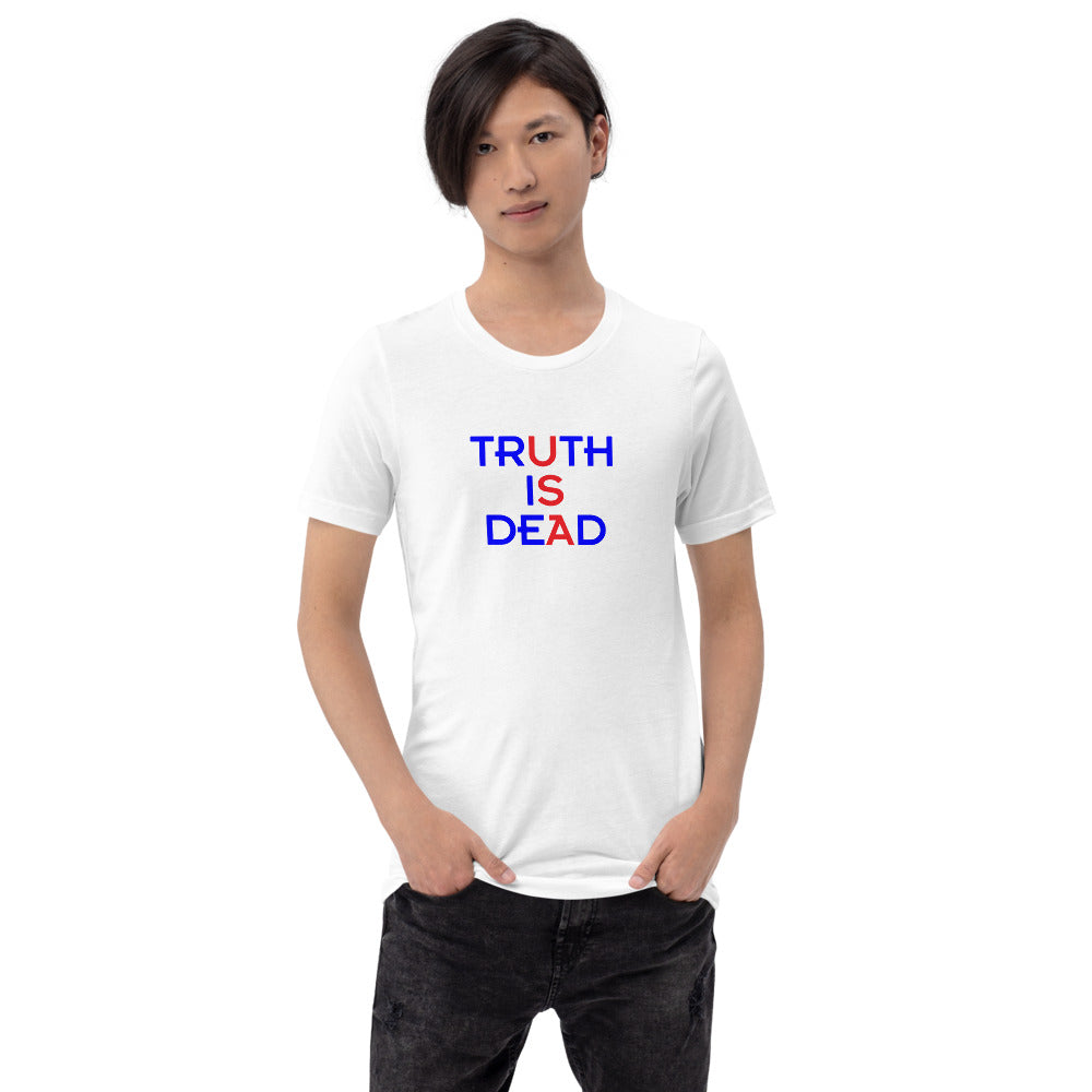 Politics TID Blue Short-Sleeve Unisex T-Shirt