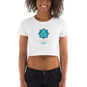 Local Fave Serendipity Yoga Women's Crop Tee