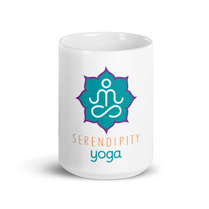 Local Fave Serendipity Yoga Mug