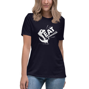 EAT Homewood 2 Dark Women's Relaxed T-Shirt