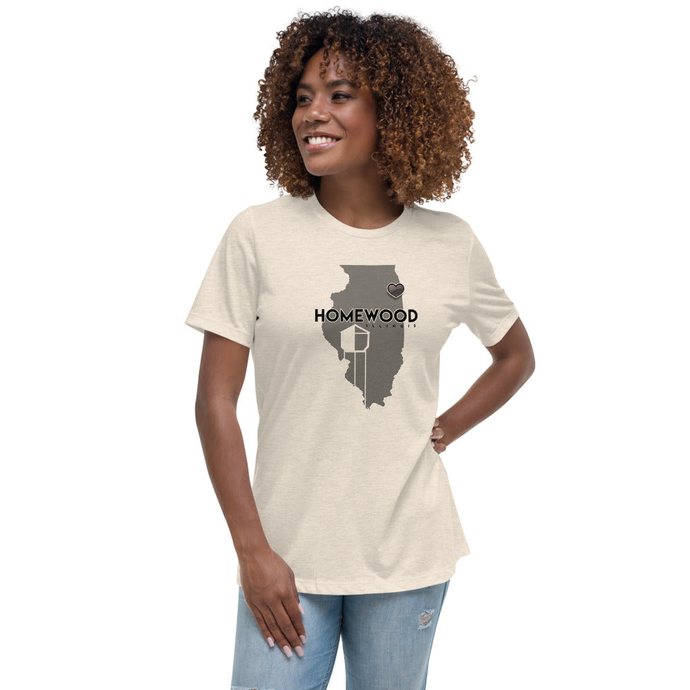 Homewood Pride Women's Relaxed T-Shirt