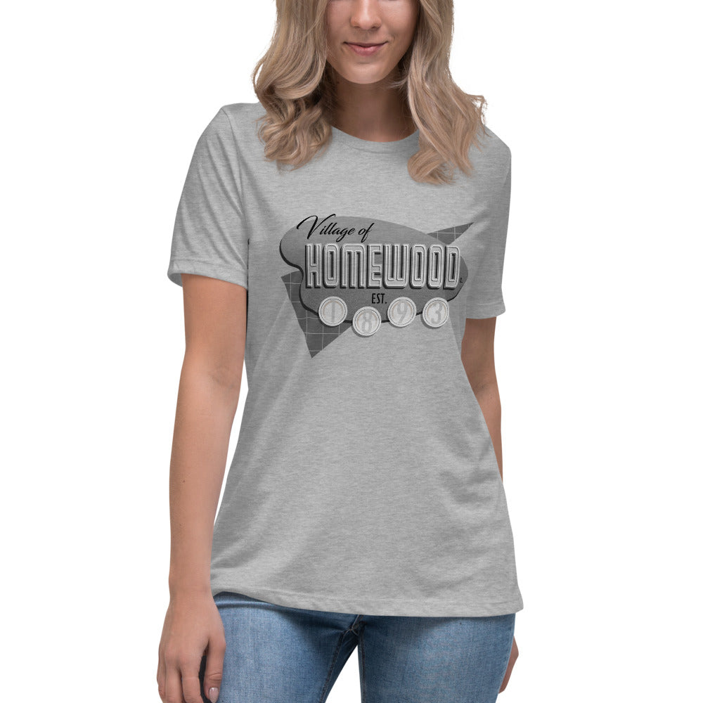 Homewood Pride 4 Women's Relaxed T-Shirt