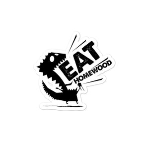 EAT Homewood 2 Bubble-free stickers