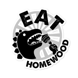 EAT Homewood Bubble-free stickers