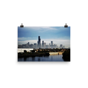 Local Artist Chicago Series 7 Poster Luster
