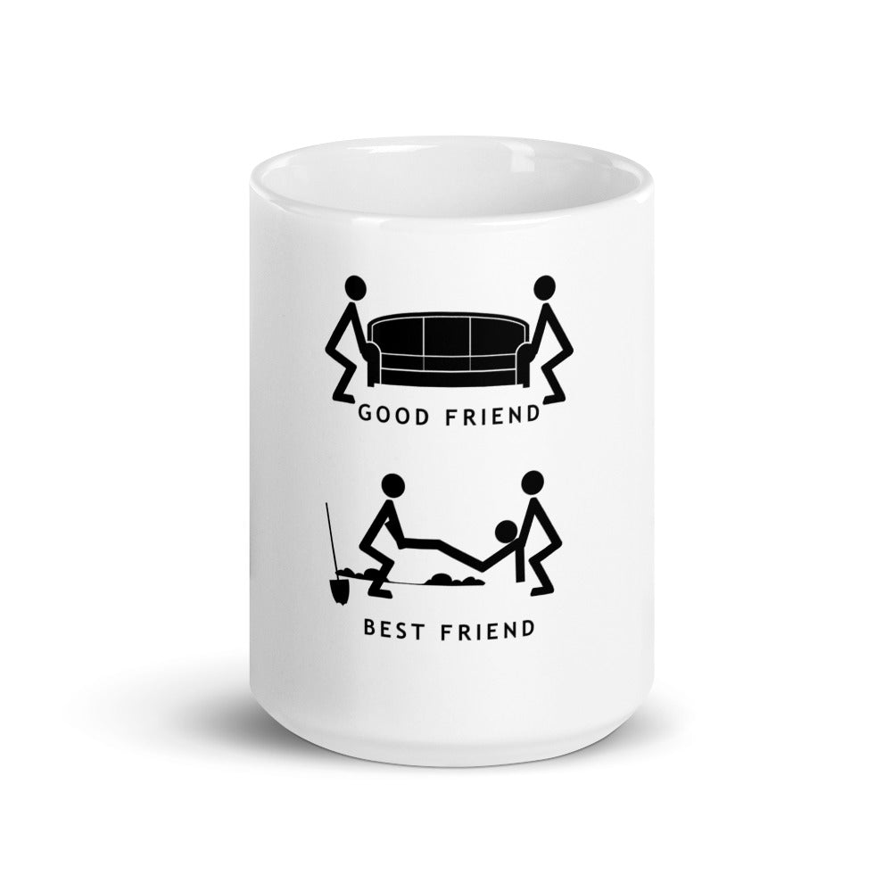Humorous Best Friend Mug