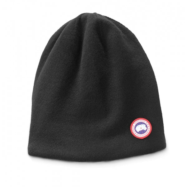 Canada Goose Standard Toque Mens Hat In Black