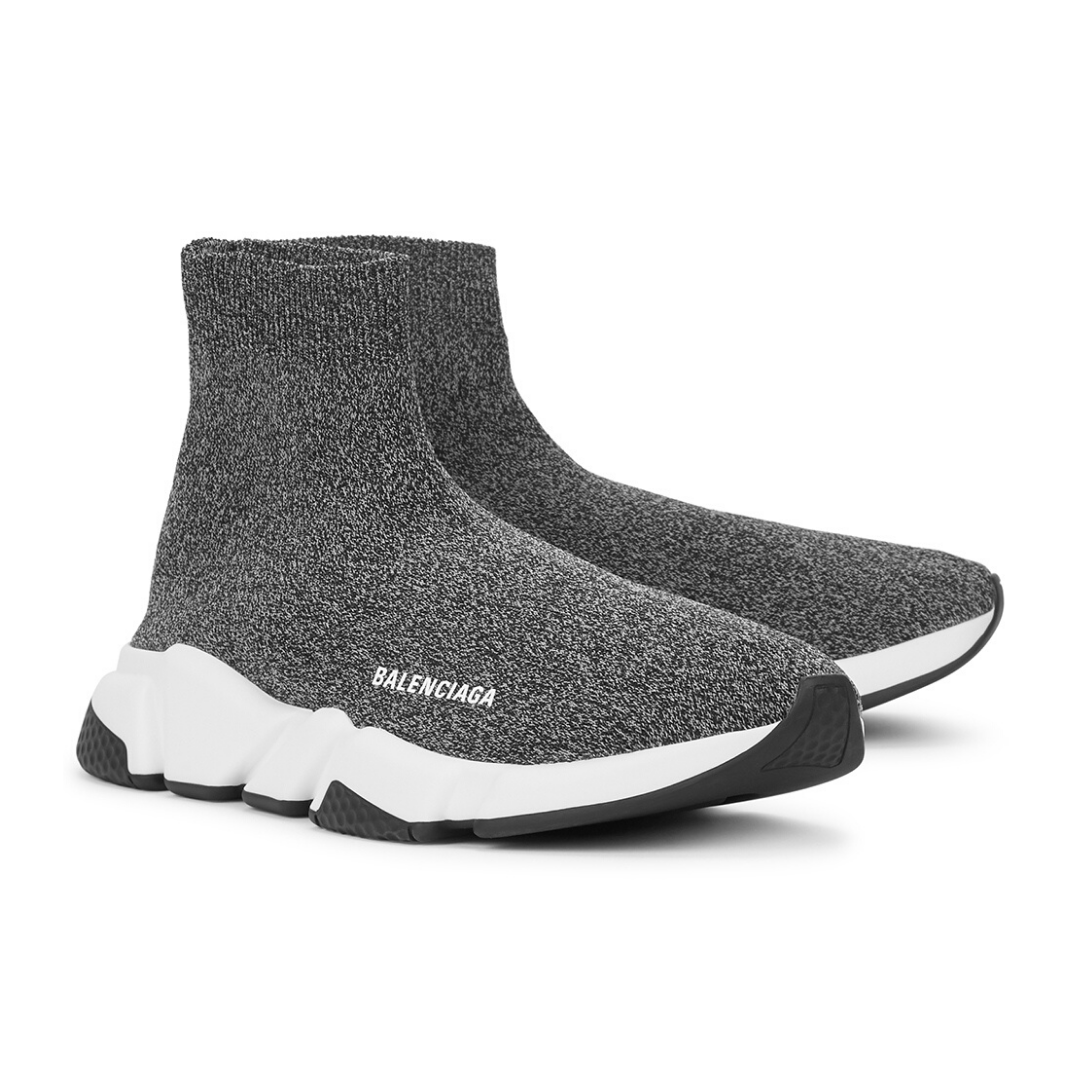 Balenciaga - Speed Grey Stretch-Knit