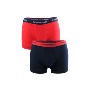 Emporio Armani - 2-pack Boxer Brief Dark Blue & Red