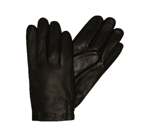 Armani Jeans - Leather Gloves In Black AW16