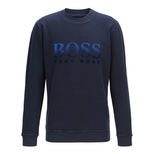 Boss - 'Weaver' Sweater In Navy Blue
