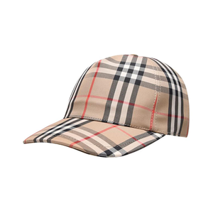 Burberry Check Cap