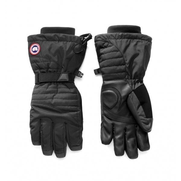 Canada Goose Women Arctic Down Gloves In Black