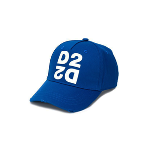 DSquared2 Mirrored D2 Cap In Blue