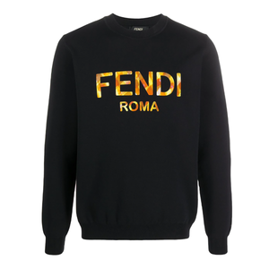 Fendi - Logo Sweatshirt In Black