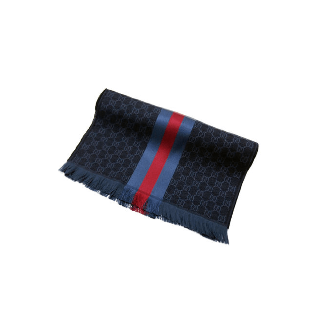 Gucci - Verbier Wool & Silk Mix Scarf