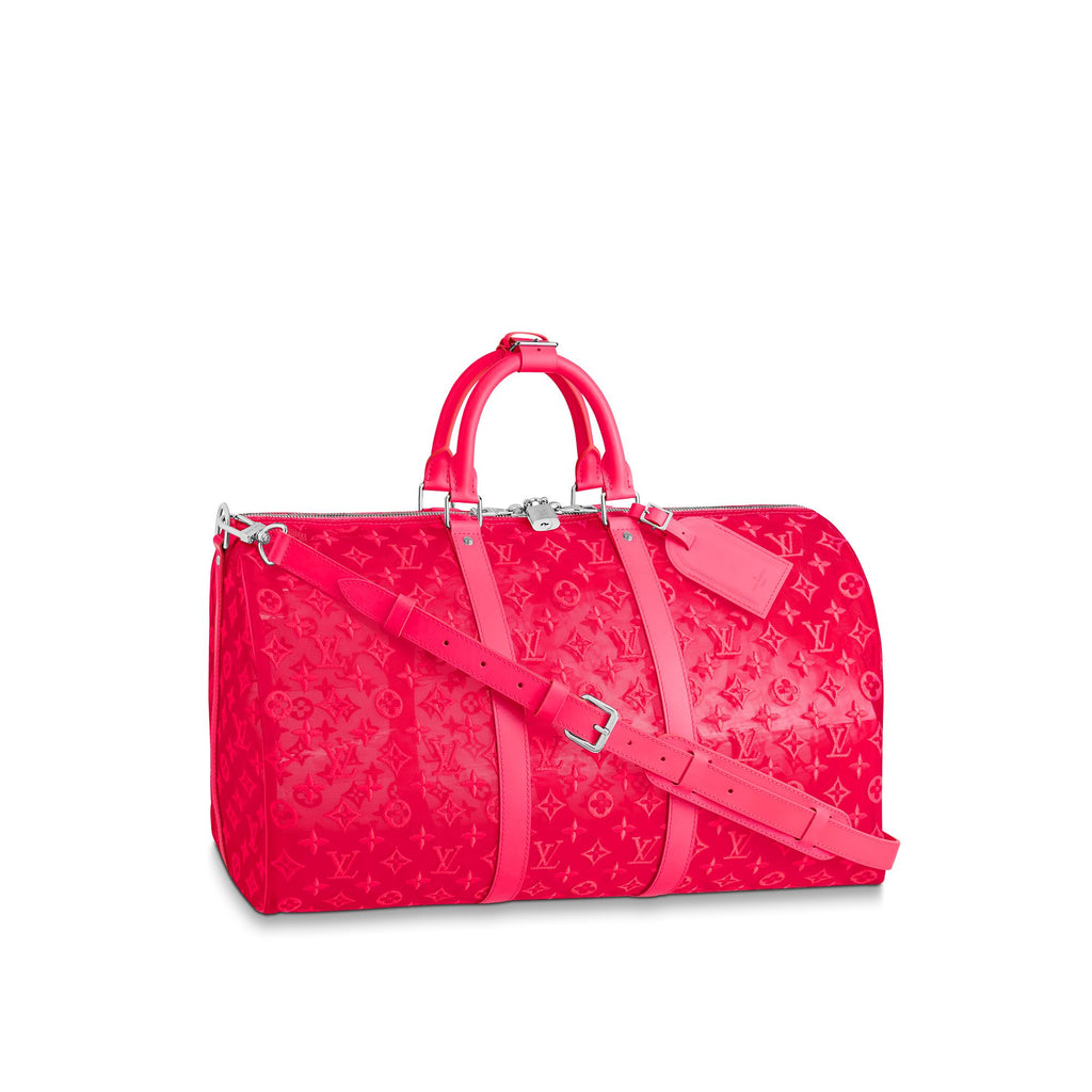 Louis Vuitton Monogram Keepall 50 - Pink