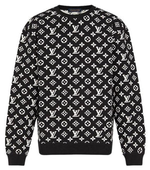 Louis Vuitton - Crew Neck Black & White (XL)