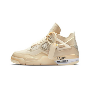 "Off-White™ x Air Jordan 4 ""SAIL"""