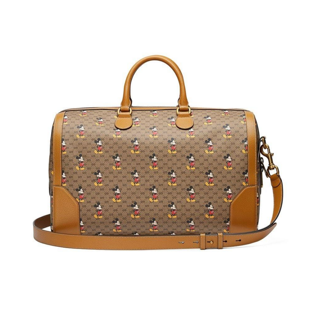 Gucci x Disney Mickey Mouse-print holdall