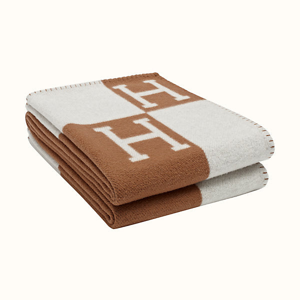 HERMÈS AVALON BLANKET | GOLD | cashmere and wool