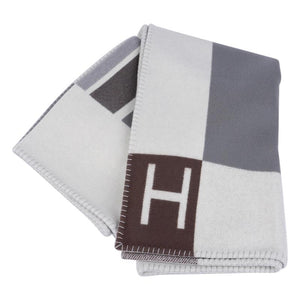 Hermes - Avalon Vibration throw blanket Gris